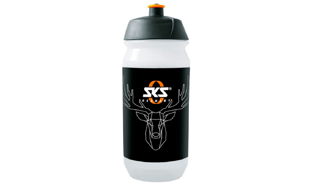 "Фляга SKS DRINKING BOTTLE """"DEER`S HEAD"""" - 500ML TRANSPARENT"""