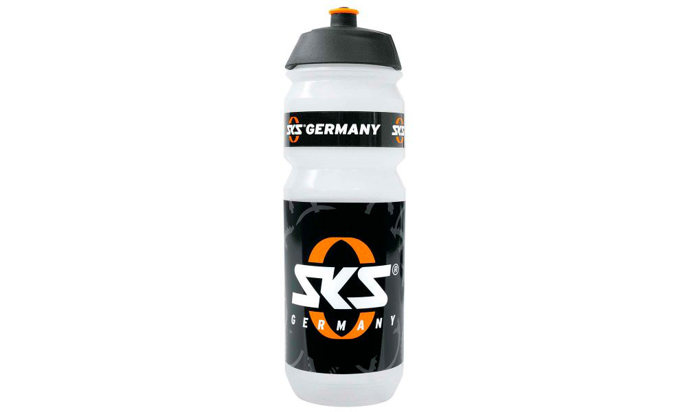 "Фляга SKS DRINKING BOTTLE """"SKS-GERMANY"""" LOGO - 750ML TRANSPARENT"""