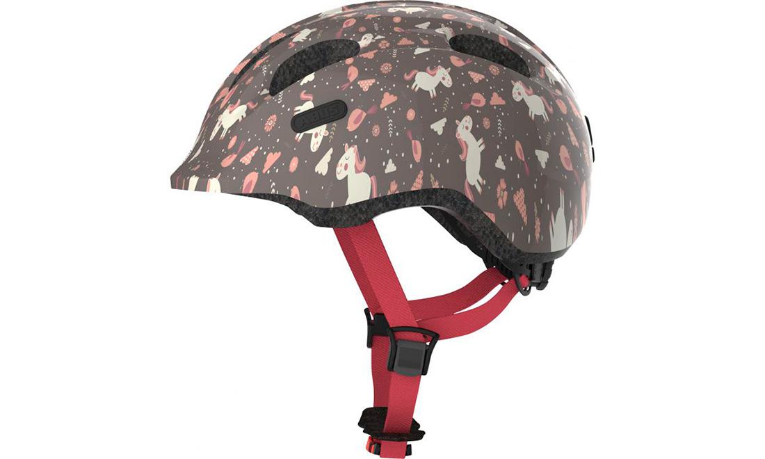 Велошлем детский ABUS SMILEY 2.0 Rose Horse, размер S (45-50 см)