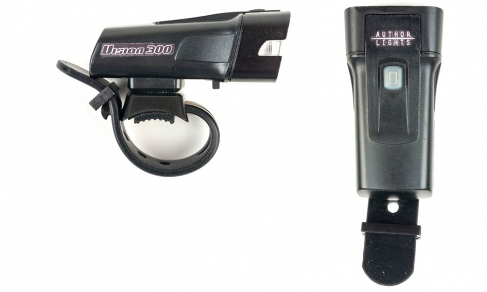 Фонарь передний Author A-Vision 300 люм., USB