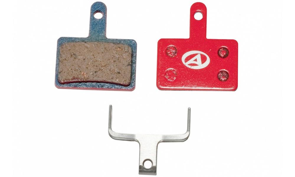 Тормозные дисковые колодки Author ABS-23 Shi B01, полимер