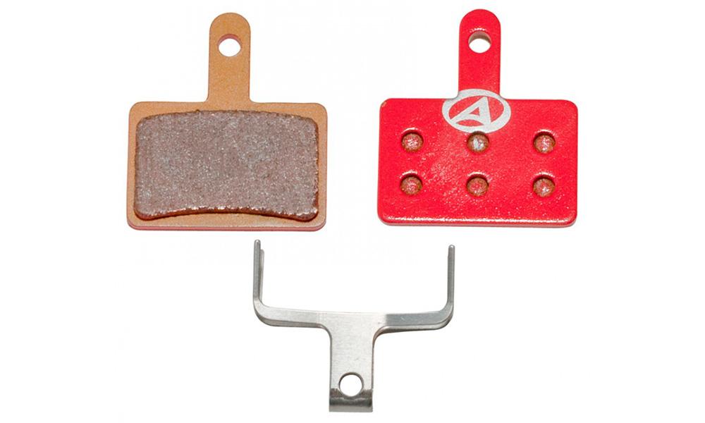 Тормозные дисковые колодки Author ABS-23S Shi B01, металл