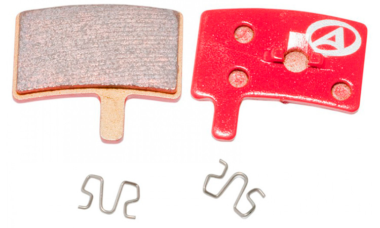 Тормозные дисковые колодки Author ABS-45S Hayes Stroker Trial, металл
