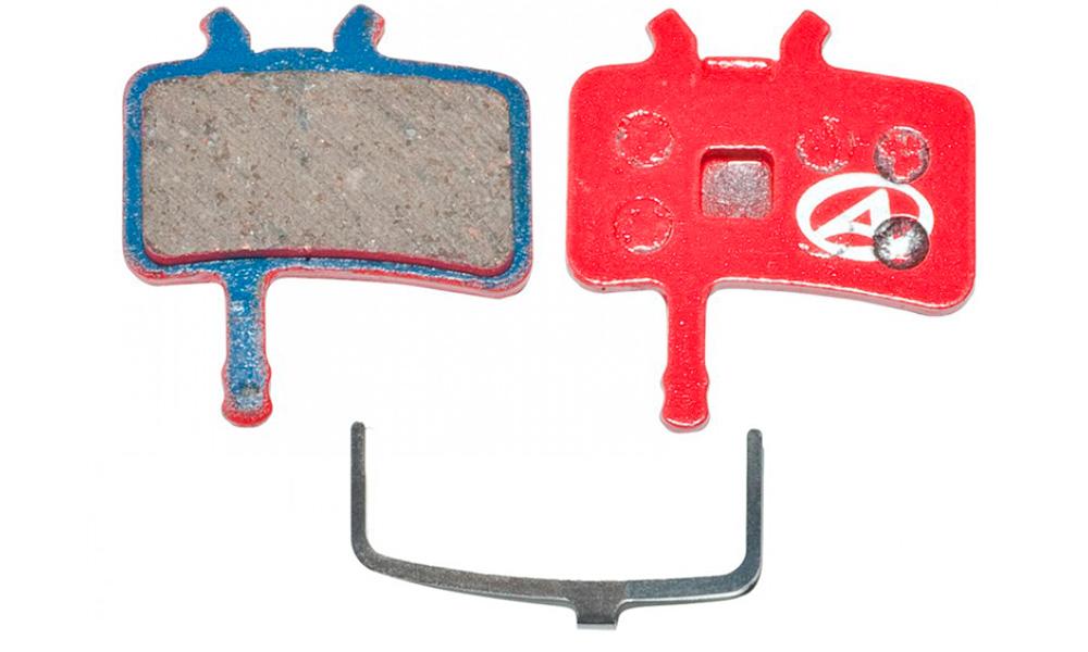 Тормозные дисковые колодки Author ABS-61 Avid Juicy, полимер