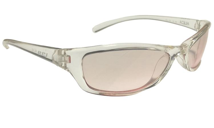 Очки RPJ  ALYS с линзами Laser Pink Deg, оправа  TRANSPARENT