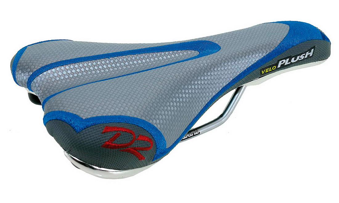 Седло VELO PLUSH, для MTB/racing, V-дизайн, 265х140мм.