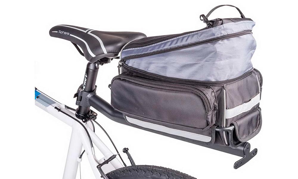 Сумка на багажник с багажником A-N LitePack 9N