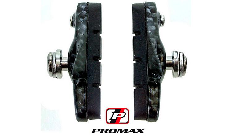 Тормозная колодка-картридж PROMAX, под карбон, Racing-brakeshoe, (пара)