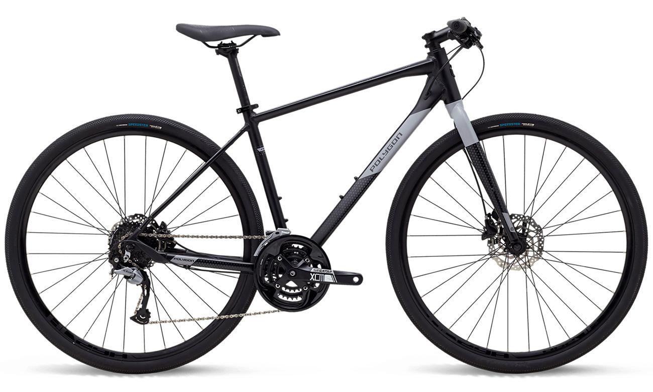 городской велосипед polygon