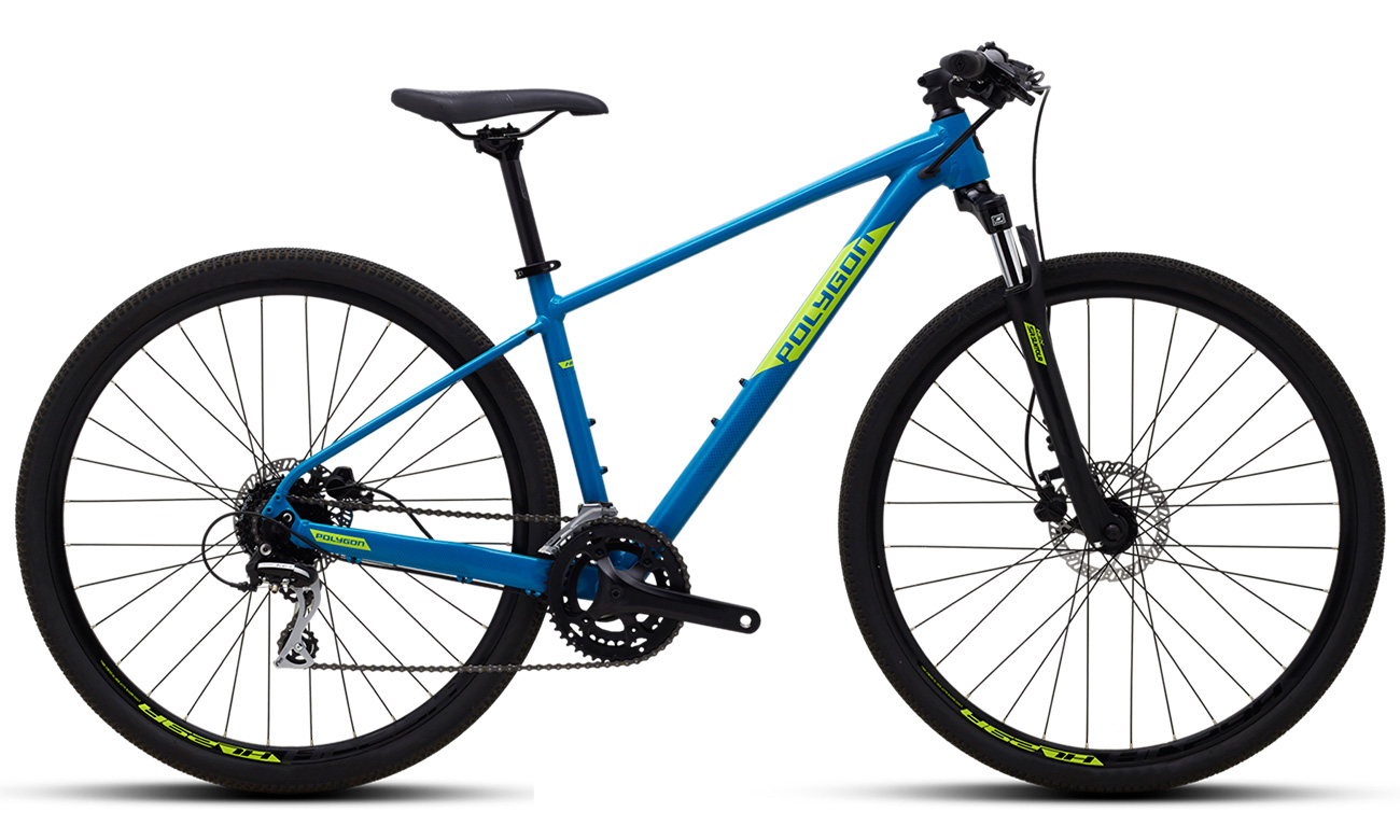 "Велосипед POLYGON HEIST X2 28"" (2021)"