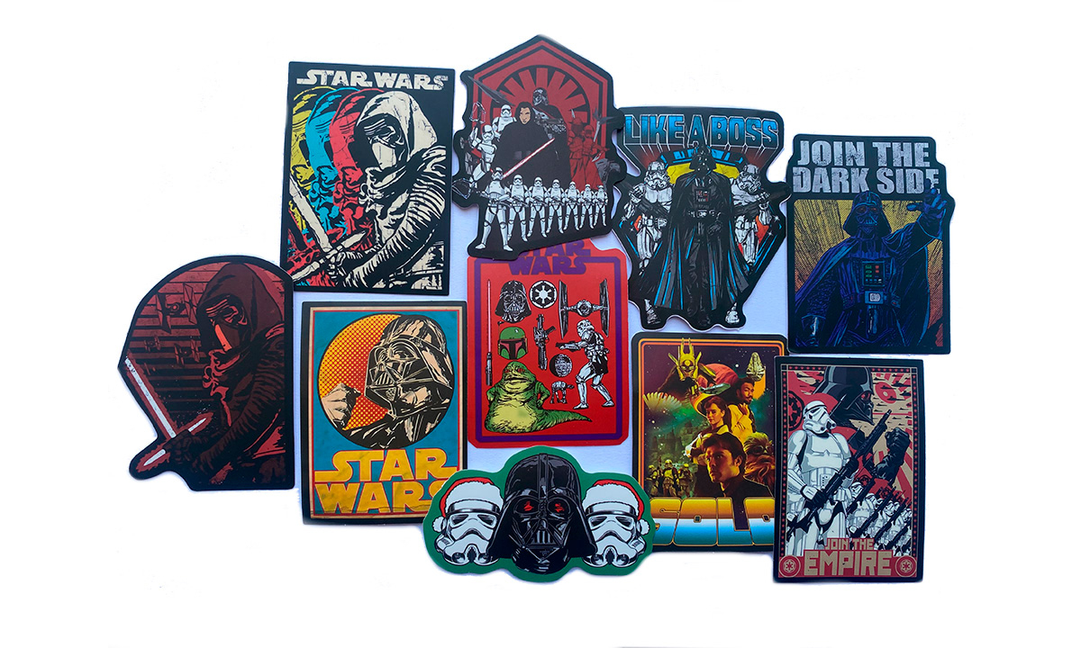 Наклейки Star Wars join the dark side