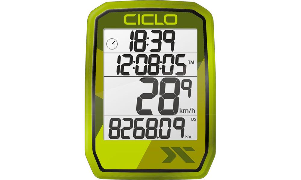 Велокомпьютер проводной Ciclo Protos 105