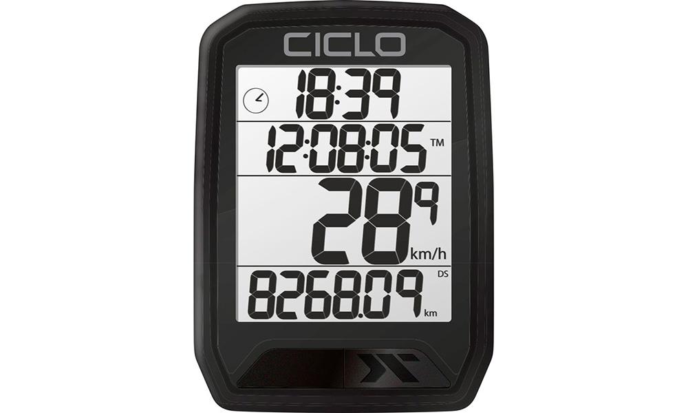 Велокомпьютер проводной Ciclo Protos 113
