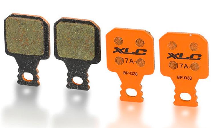 Тормозные колодки дисковые XLC BP-O38, Magura MT5,7 (4шт.)