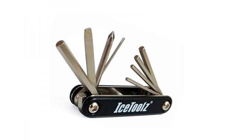 Ключ ICE TOOLZ 92A1 складной 8 функций
