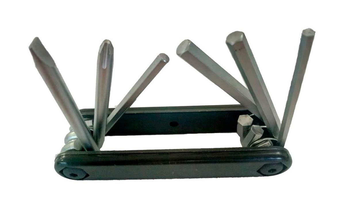 Компактный ключ Green Cycle GCM-061 складной 6 инструментов