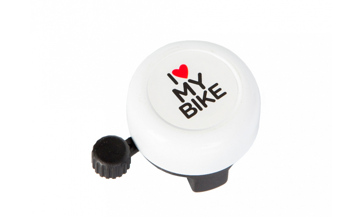Звонок Green Cycle GBL-251 I love my bike