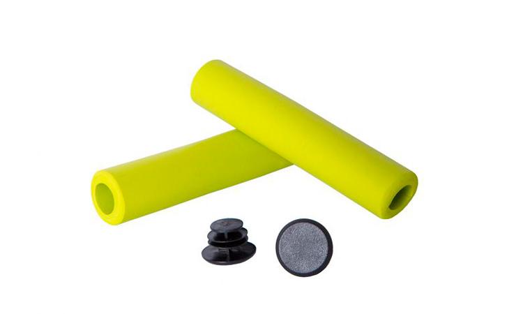 Грипсы Green Cycle GGR-701, длина 130 мм, вспененный силикон