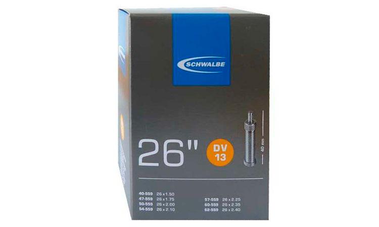 """Камера 26"""" (40/62-559) Schwalbe DV13 40 мм VM"""