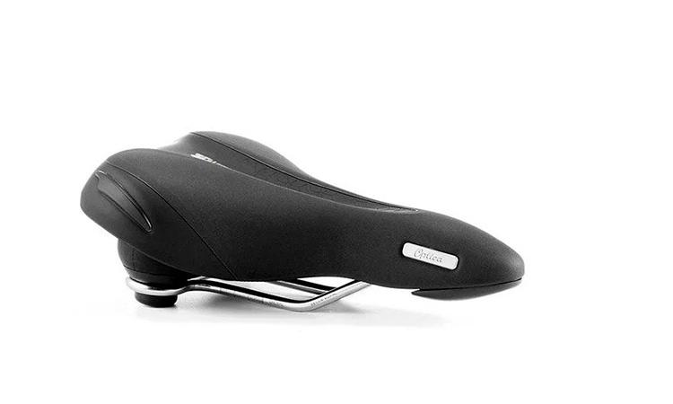 Седло Selle Royal Premium OPTICA MODERATE, 3D Skingel, обивка Black Astrale, размер 271х169 мм, эластомеры, мужское