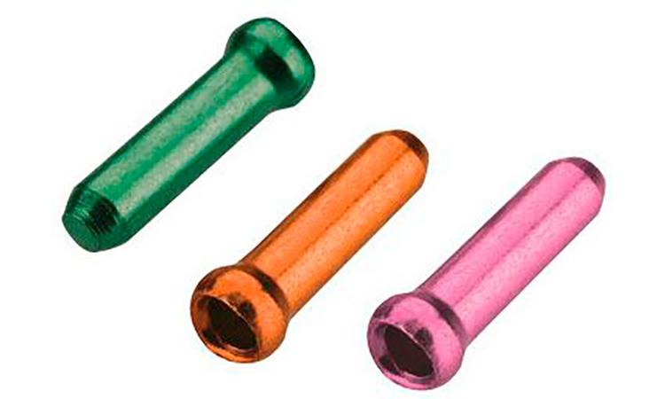 Законцовка троса JAGWIRE CHA075 - диам. 1.8 мм и тоньше (30шт./один цвет)