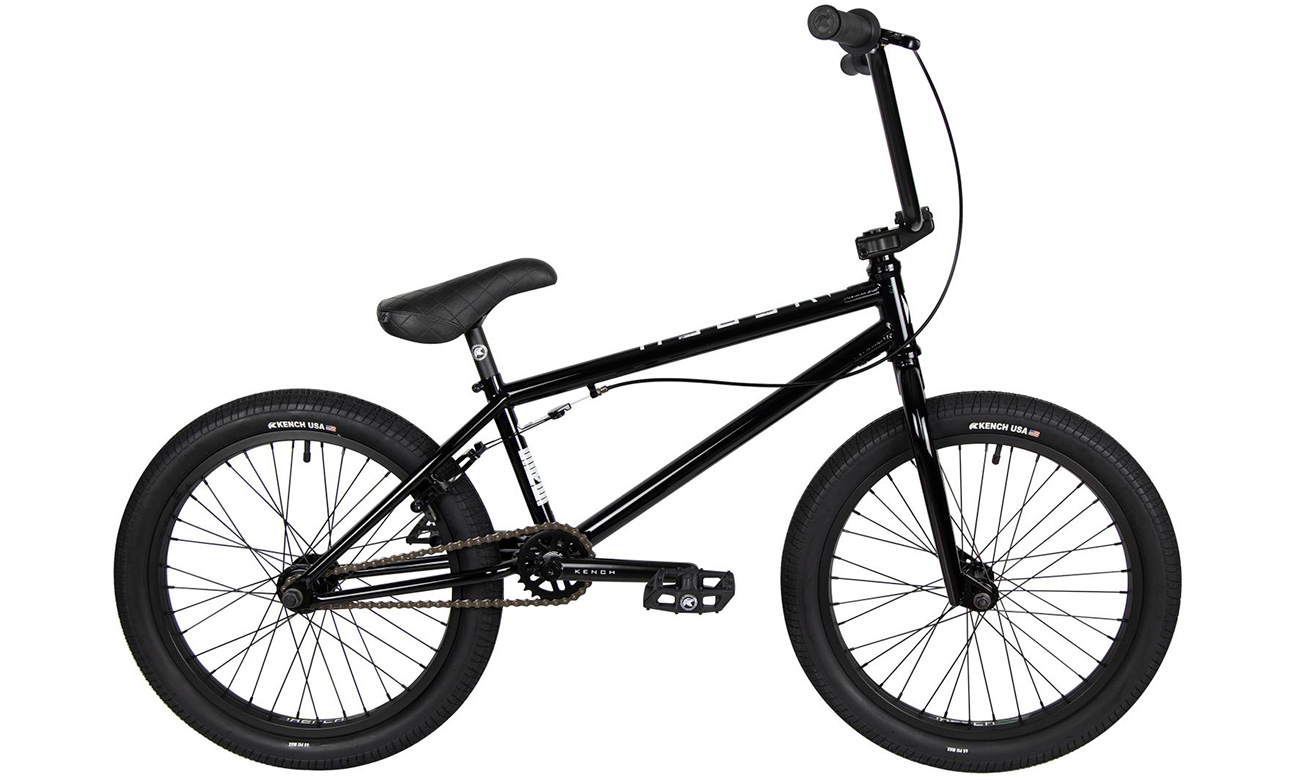 "Велосипед 20"" BMX Kench Hi-Ten 20,75"" (2021) Черный"