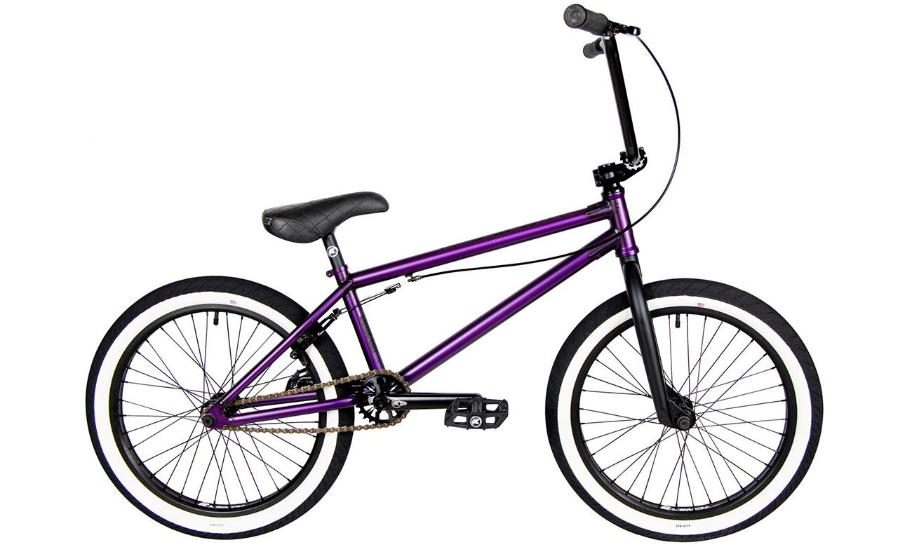 """Велосипед 20"""" BMX Kench PRO Cro-Mo 21""""(2021) Фиолетовый"""