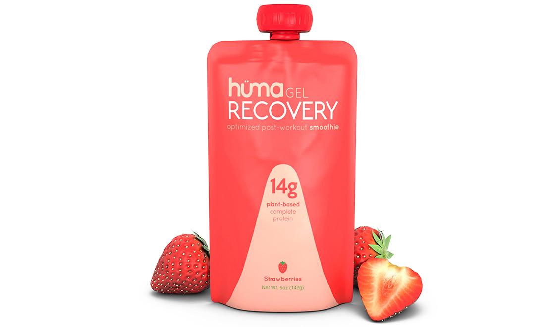 Гель восстанавливающий HUMA Strawberry (клубника)