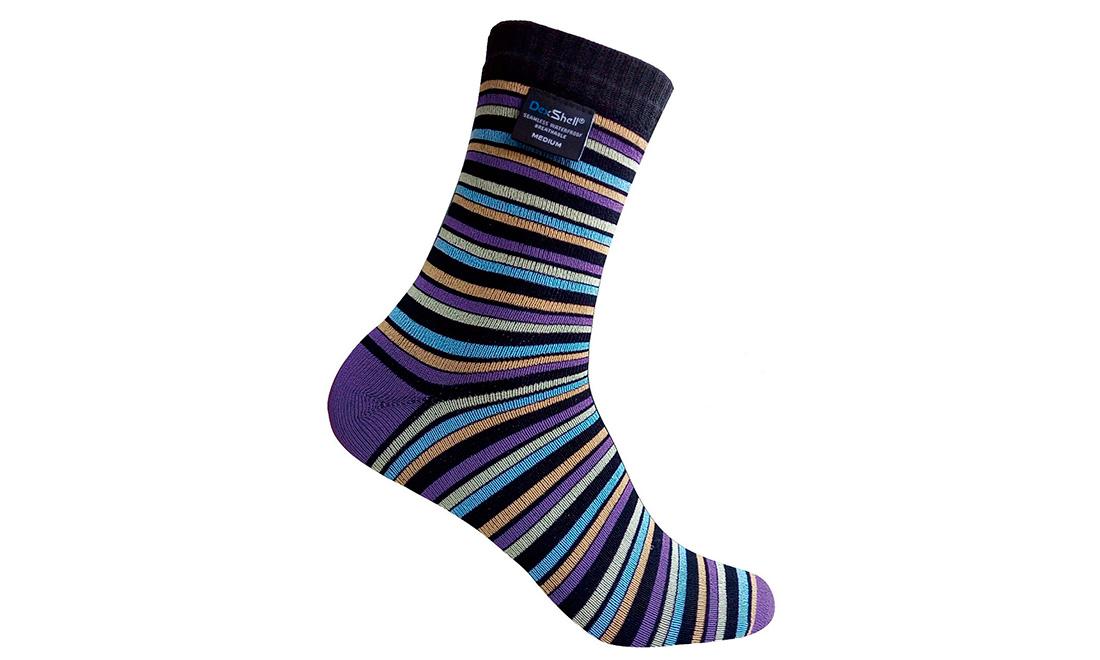 Носки водонепроницаемые Dexshell Ultra Flex Socks Stripe XL