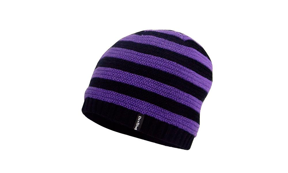 Шапка детская водонепроницаемая Dexshell фиолетовая