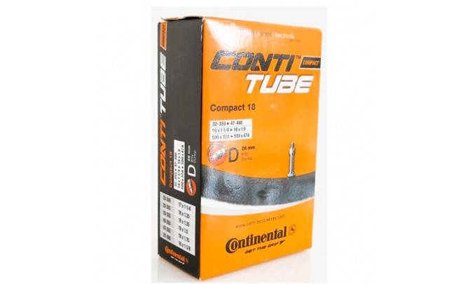 "Камера Continental Compact 18"", 32-355 -> 47-400, DV26 мм"