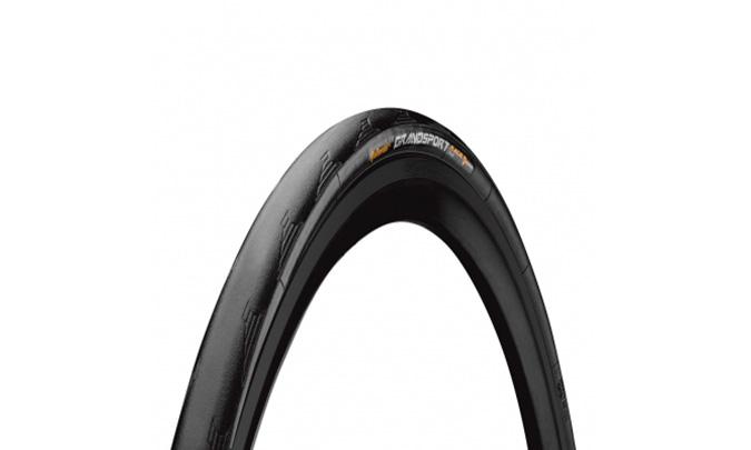 "Покрышка Continental Grand Sport Race 28"", 700x25C, Фолдинговая, NyTech Breaker, Skin"