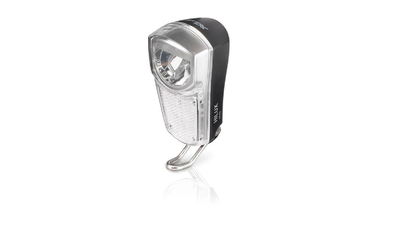 Фара передняя XLC LED, dynamo, 35 lux