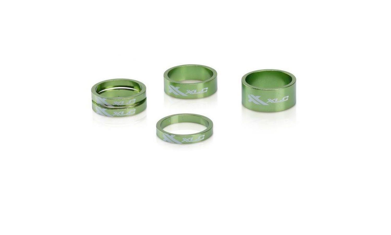 "Проставочные кольца XLC AS-A02, 1 1/8"" (3x5, 1x10, 1x15), 5 шт."