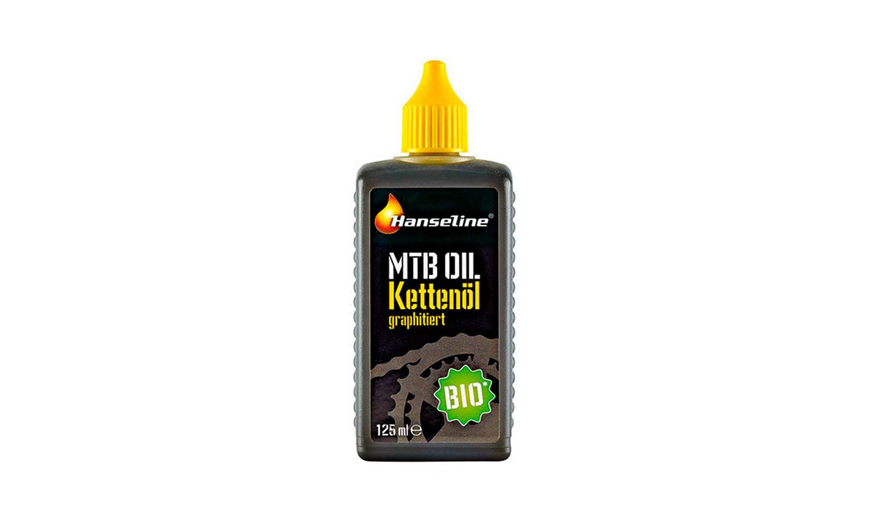 Смазка для цепи Hanseline BIO-MTB-Oil, 125 мл (графитная)