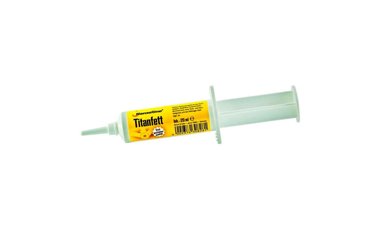 Смазка титановая Hanseline Titanfett, 20 мл (консистентная)