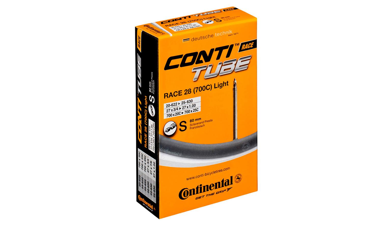 "Камера Continental Race 28"", 18-622 -> 25-630, PR80 мм"