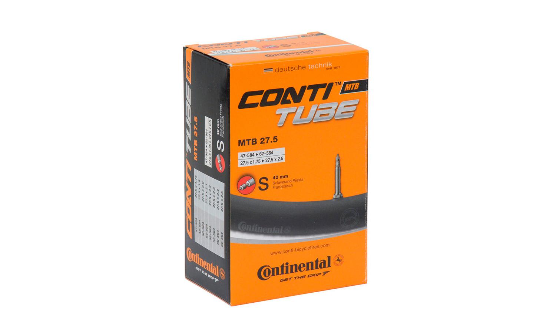 "Камера Continental MTB 27.5""x1.75-2.5, 47-584 -> 62-584, PR42 мм"