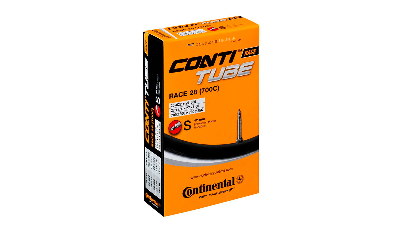 "Камера Continental Race 28"" Training, 25-622 -> 32-630, PR60 мм"