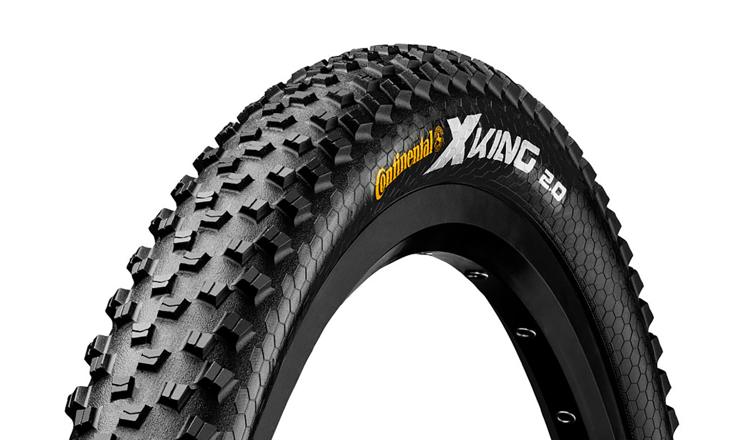 "Покрышка Continental X-King 27.5""x2,2, Performance, Skin (без уп.)"