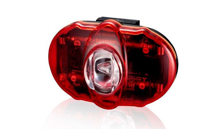 Мигалка задняя Infini VISTA I-406R, 3 светодиода, 2 режима