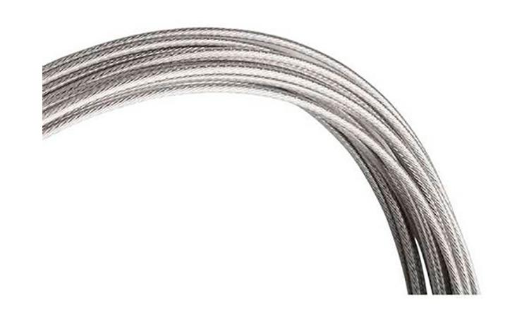 Трос для переключателя ALHONGA HJ-DWS2-B 4x4=1.2x2300 мм, шлифованная нержавейка (100шт)
