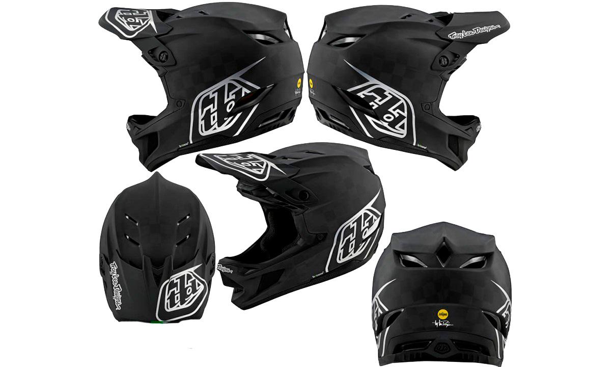 Вело шлем фулфейс TLD D4, размер L (58-59 см)  Carbon Freedom 2.0