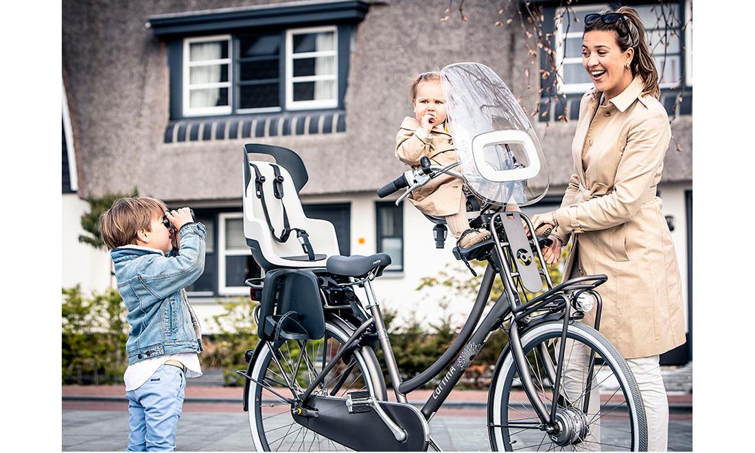Детское велокресло Bobike Exclusive Edition Tour с задним фонарем