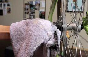 как и чем смазывать цепь велосипеда